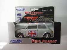 Welly Die Cast Mini Cooper 1 : 36 Scale NEW