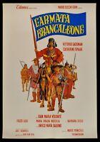 Manifesto L'Armee Brancaleone Vittorio Gassman Catherine Spaak Volonte P05