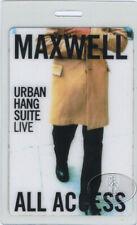 MAXWELL 1996 LAMINATED BACKSTAGE PASS