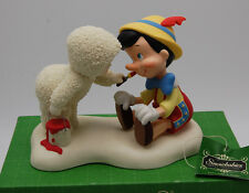 "Snowbabies ""Let's Add A Smile"" Pinocchio Disney Showcase 2005 Dept 56 69814"