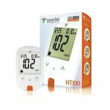 Diabetes Testing Kit, 50 Count | Tyson Bio HT100 Glucometer, 50 Blood Sugar...