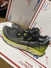 Men's Altra Footwear Torin 4 Plush Running Shoe Gray Lime Size 13 alm1937k232