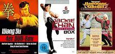 14 Filme KUNG FU Paket WANG YU Jackie Chan CHEN SING Eastern DVD Collection Neu