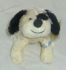 Black & White Cheeky Dog 6in Lil Kinz Webkinz with sealed unused tag HS192