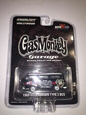 2016 Super Toy Con Gas Monkey Garage Greenlight 1969 Volkswagen Type 2 Bus VW