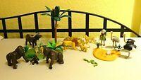Playmobil Spielset Dschungel Savanne Safari Zoo Konvolut Tiere