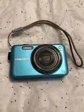 Samsung Sl605 12.2Mp Turquoise Digital Camera w/Battery, Cord;