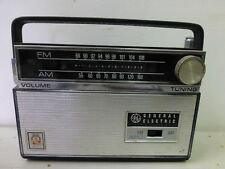 GE General Electric Eleven Transistor Radio Portable AM/FM AFC Tuner AS IS