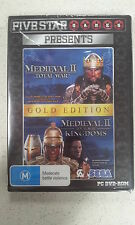 Medieval II 2 Total War Gold Edition Game PC (NEW)