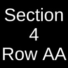 4 Tickets Jimmy Buffett and The Coral Reefer Band 4/23/22 Raleigh, NC for sale