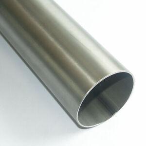 Edelstahl Rohr V2A 1.4301 63,5 x 1,5mm Leitungsrohr 25cm 50cm 100cm 1m Auspuff