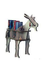Children Bookcase Goat Shaped Magazine Rack Organizer Bookshelf Display shelving