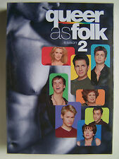 QUEER AS FOLK - SAISON 2 - COFFRET 5 DVD NEUF ET EMBALLE -
