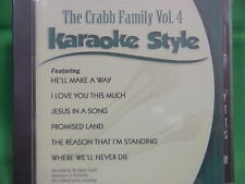 The Crabb Family #4 ~ Christian ~ Daywind ~ Karaoke Style ~ Promised Land ~ CD+G