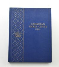 Used Whitman 1920-To Date Canadian Small Cents Empty Coin Album Book 9 Oz. *104