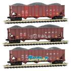 Micro-Trains MTL N Graffiti BNSF Hopper 3-Pack 99305710