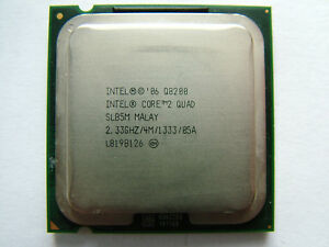Intel Core Q8200  4 x 2,33 GHz /1333MHz / LGA 775 / Quad-Core Prozessor