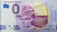 0 Euro Schein Der letzte Trabant  (2020-10) - Souvenir Null € Sammler-Banknote