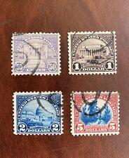 Vintage US Stamps, #570-573