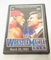 ⭐WWE - Wrestlemania XIX (DVD, 2003)