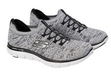 Sketchers Flex Appeal 2.0 Women Walking Shoes Ladies Pumps Trainers Size 7 Grey