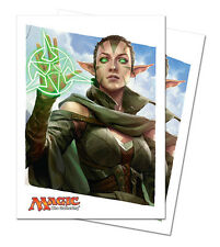 80ct Nissa Planeswalker-Art Deck Protector Card Sleeves MTG Ultra Pro 66 x 91mm