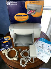 HP DeskJet 840c Parallel/USB 600dpi Inkjet Printer C6414A