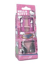 Hello Kitty Kids Flatware Set Silverware Spoon & Fork Sanrio Tableware 2 Sets