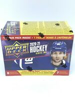 2020-21 Upper Deck Series 2 Hockey 7 Pack Blaster Box NHL Look for Young Guns