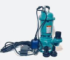 Fäkalienpumpe 0,55kW Schneidwerk,Tauchpumpe Gewebeschlach, Schmutzwasserpumpe