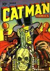 Catman Comics 28 Comic Book Cover Art Giclee Reproduction on Canvas