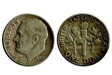 1 Dime Roosevelt Etats - Unis Argent 1954