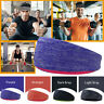 Cotton Women Men Sports Sweat Sweatband Headband Yoga Gym Stretch Head Band NEW
