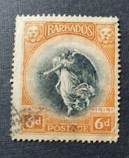 Barbados SG208 Used