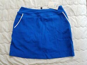 1 NWT FOOTJOY WOMEN'S SKORT, SIZE: SMALL, COLOR: BLUE (J43)