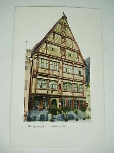 Postkarte Dinkelsbühl Deutsches Haus 102