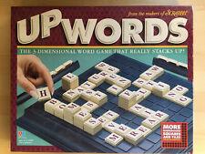 Milton Bradley UPWORDS Word Building Scrabble Board Game (1997) Complete