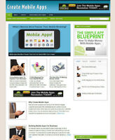 CREATE MOBILE APPS ADVICE BLOG / WEBSITE WITH UK AFFILIATE STORE & BANNERS