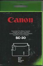 NEW  Genuine Canon SC-30 Correctable Typewriter Film Ribbons FREE Post