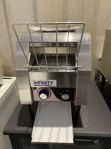 Infinity Heavy Duty Single Conveyor Toaster-Bun Toaster-Toast Maker