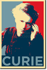 MARIE CURIE ART PHOTO PRINT (OBAMA HOPE PARODY) POSTER GIFT CHEMISTRY