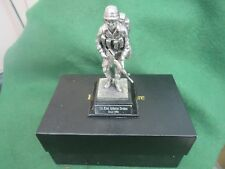ROYAL HAMPSHIRE PEWTER FIGURE US 82nd AIRBORNE DIVISION 'GULF 1991' BOXED
