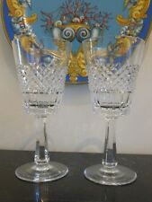Vintage Galway Irish Crystal O'Donnell 2 Water Goblet Glasses