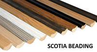 Scotia Beading Laminate- 10 x 1.2m lengths- Edge Trim Flooring- 12m