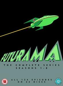 FUTURAMA COMPLETE SERIES SEASONS 1-8 DVD Boxset REGION 4 NEW & SEALED