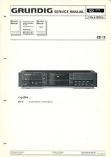 GRUNDIG - CD 12 - Service Anleitung Manual - B2295