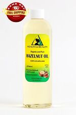 HAZELNUT OIL ORGANIC CARRIER COLD PRESSED 100% PURE 12 OZ