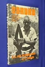 TARURU C.G. Brandenstein ABORIGINAL SONG POETRY FROM THE PILBARA Book HCDJ Book