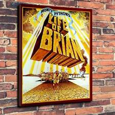 """Monty Pythons Life Of Brian Printed Canvas A1.30""""x20""""~Deep 30mm Frame"""