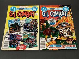 """(2) 1983 Marvel Comics, #250, #255 Feb.&July, """"G.I. Combat"""""""